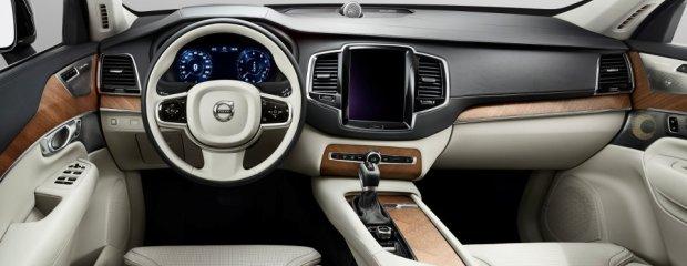 Wnętrze nowego Volvo XC90
