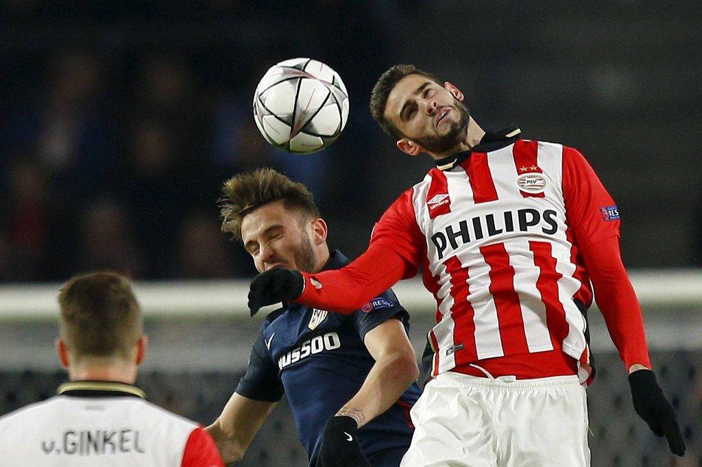PSV Eindhoven - Atletico Madryt