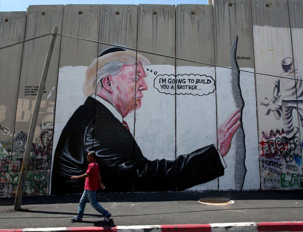Donald Trump podgrzewa sytuację na Bliskim Wschodzie
