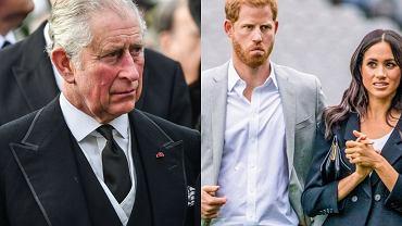 książę Karol, Meghan Markle, książę Harry