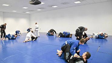 Trening brazylijskiego jiu jitsu