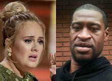 Adele komentuje śmierć George'a Floyda i apeluje do fanów