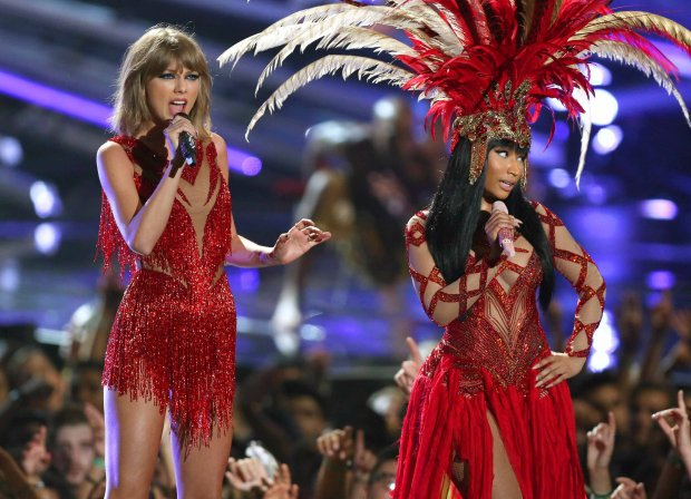Taylor Swift i Nicki Minaj