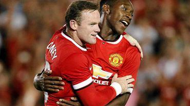 Wayne Rooney i Danny Welbeck