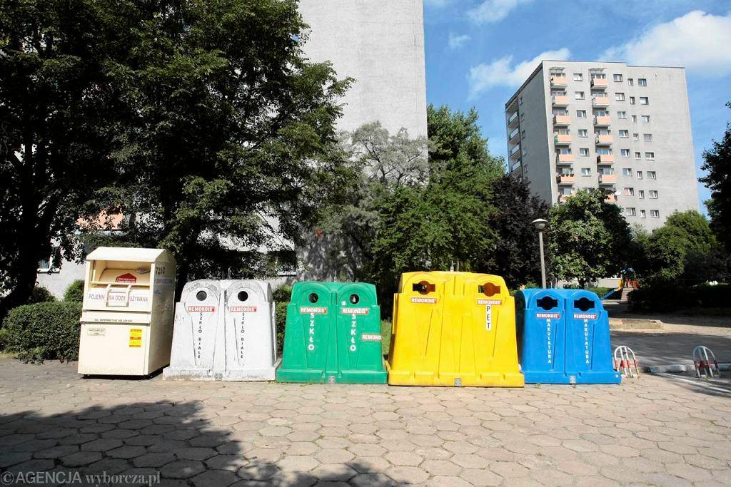 Kontenery do segregacji śmieci