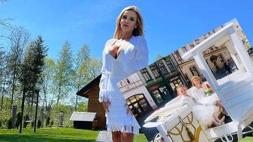 Monika Chwajoł wyprawiła córce komunię jak wesele. Złoto-biała kareta, wystawny bankiet i czerwony dywan