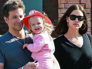Irina Shayk i Bradley Cooper z córką