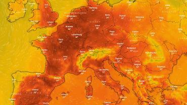 Fala upałów w Europie. Padł kolejny rekord - tym razem w Niemczech. Kolejarze malują tory na biało