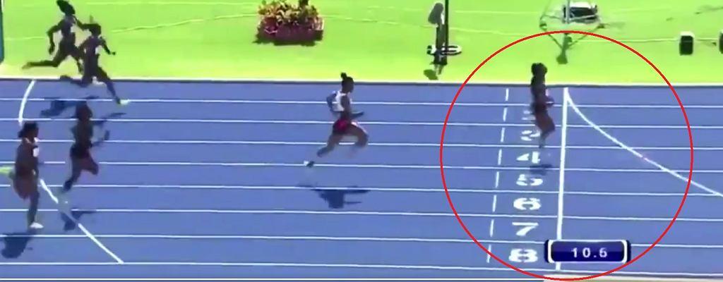 Shelly-Ann Fraser-Pryce osiąga rewelacyjny wynik na 100 metrów