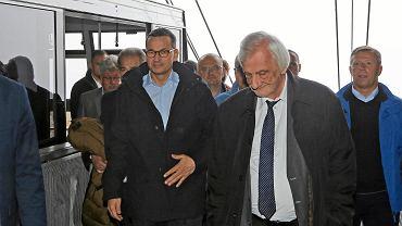 Premier Mateusz Morawiecki na Kasprowym Wierchu