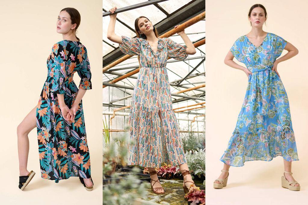 Sukienki maxi Orsay wyprzedaż