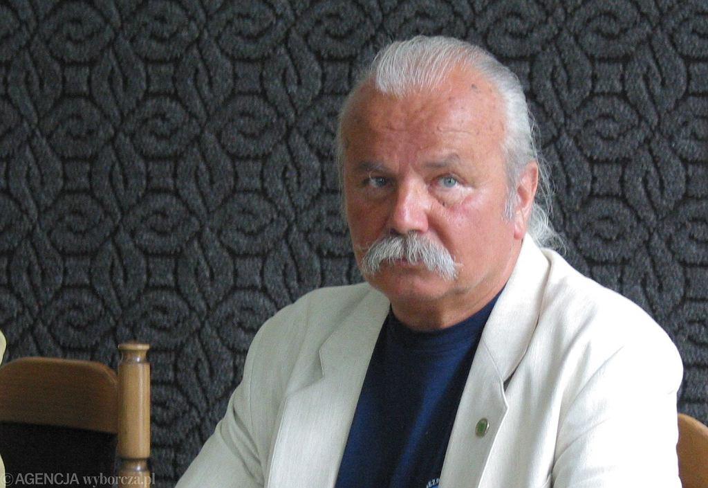 Marek Kotański - zdjęcie z 2002 roku.