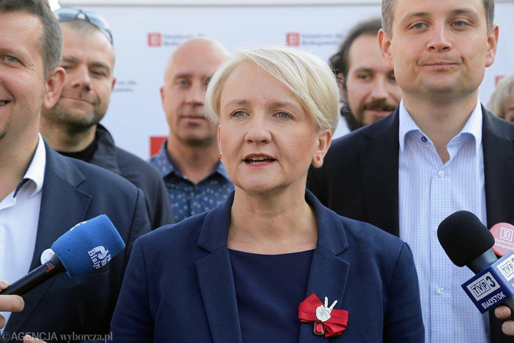 Katarzyna Sztop-Rutkowska wraz ze swoim komitetem (Inicjatywą dla Białegostoku) podsumowała kampanię wyborczą
