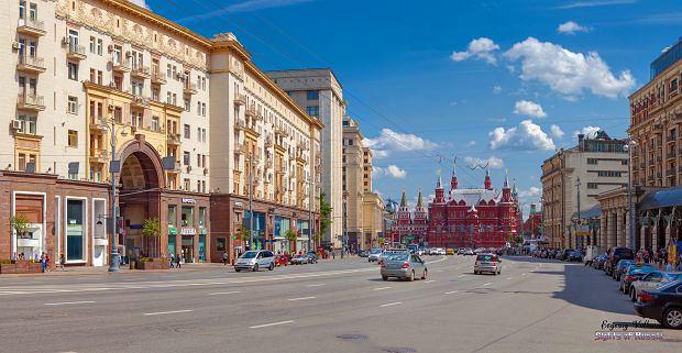 Ulica Twerska w Moskwie