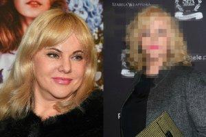 Joanna Kurowska w lutym i teraz