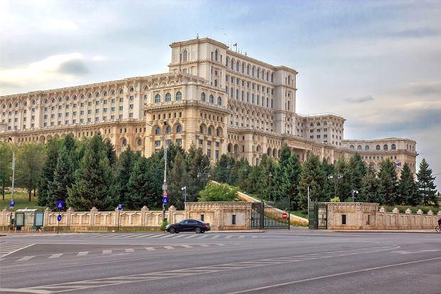 Bukareszt - Pałac Parlamentu, znany dawniej jako Dom Ludu