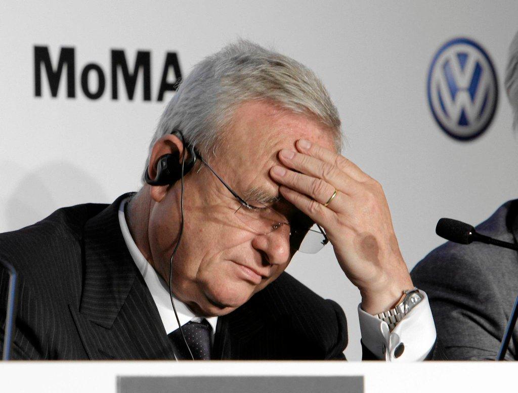 Były szef Volkswagena, Martin Winterkorn