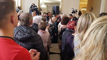 Jarosław Kaczyński w Skarżysku-Kamiennej, fot. Jacek Gądek / Gazeta.pl