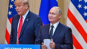 Spotkanie Trump - Putin w Helsinkach
