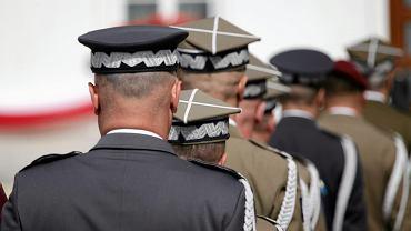 Generałowie podczas Święta Wojska Polskiego. Warszawa, 15 sierpnia 2018