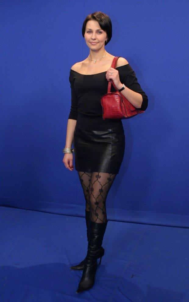 Anna Popek w 2004 roku.