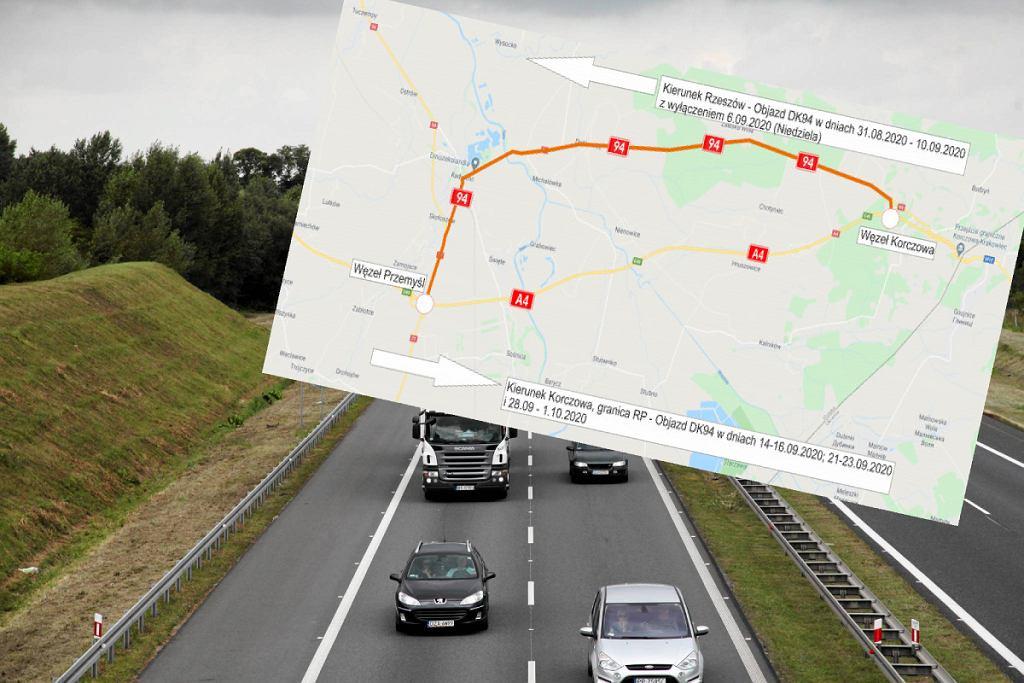 Autostrada A4 remont
