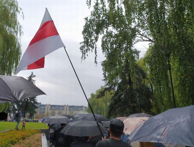 Manifestacja w Grodnie
