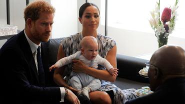 Meghan i Harry pokazali synka światu podczas wizyty w Afryce