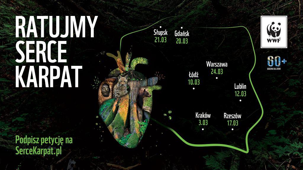 Ratujmy Serce Karpat - akcja WWF Polska, której celem jest utworzenie Turnickiego Parku Narodowego na terenie Puszczy Karpackiej