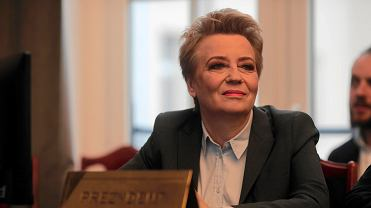 Zaprzysiężenie Hanny Zdanowskiej na stanowisko prezydent Łodzi.