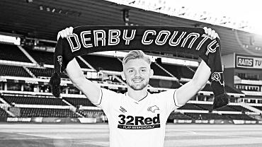 Kamil Jóźwiak w Derby County