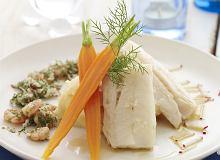 Filet z dorsza z marchewką i purée z ziemniaków aromatyzowanych wędzonym łososiem - ugotuj