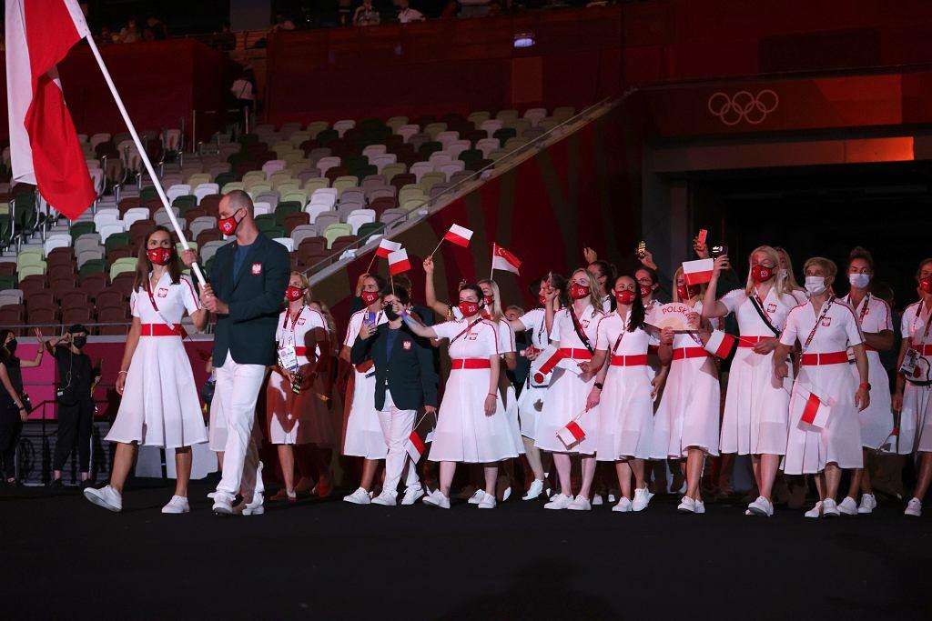 Polscy sportowcy - ceremonia otwarcia IO