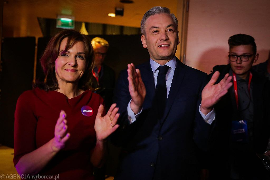 Gabriela Morawska-Stanecka i Robert Biedroń