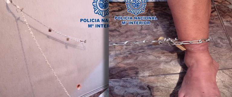 Madryt. Dzieci przykuły go łańcuchami, pomoc nadeszła po 8 dniach