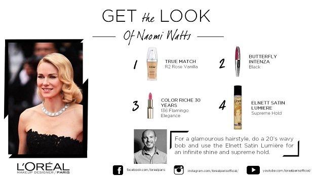 Makijaż Naomi Watts