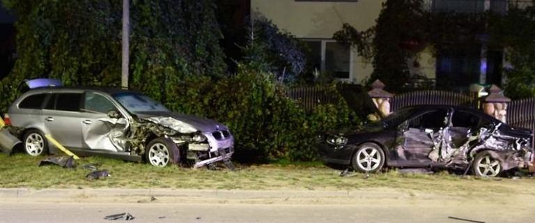 Dwóch pijanych 14-latków uciekało BMW. Samochód należał do mężczyzny poszukiwanego przez sąd