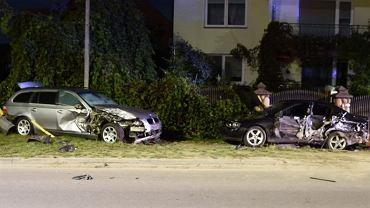 Pijany 14-latek uciekał kradzionym BMW