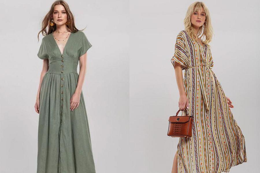 Sukienki maxi na jesień!