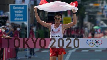 Tokio 2020. Dawid Tomala mistrzem olimpijskim w chodzie na dystansie 50 km