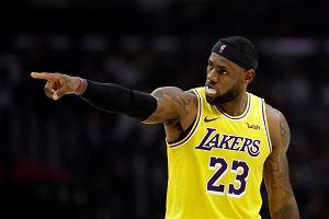 Kolejna wygrana Los Angeles Lakers! Fantastyczny mecz LeBrona Jamesa