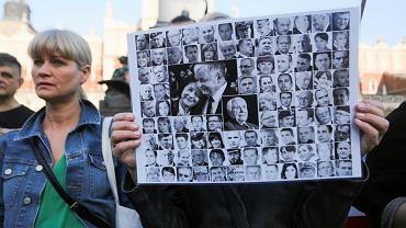 Kraków: 8. rocznica katastrofy smoleńskiej