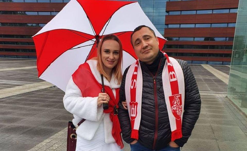 Natasha Polkh z mężem Andriejem starają się pomóc rodakom zbiegłym przed reżimem Łukszenki