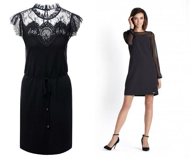 Czarne sukienki, czarne sukienki na sylwestra