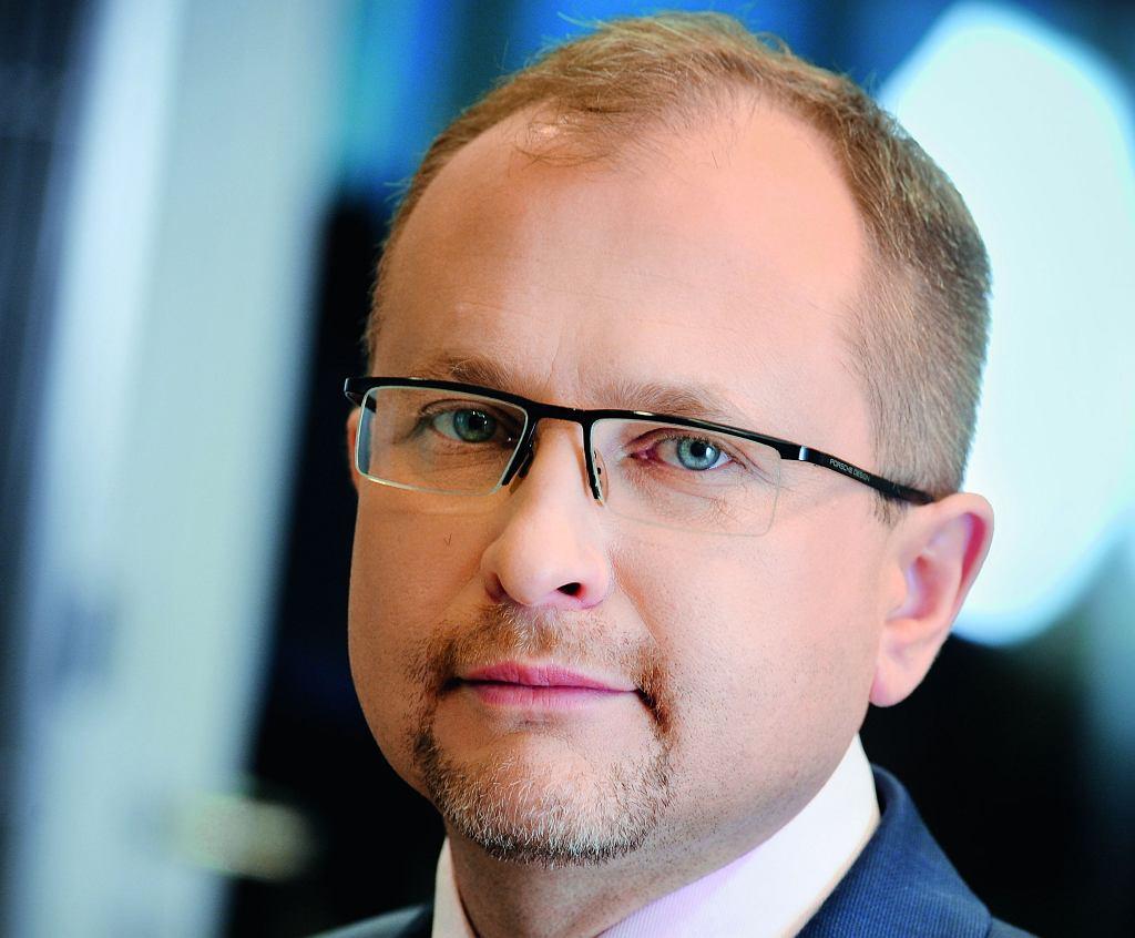 Konrad Kąkolewski, były już prezes firmy Get Back