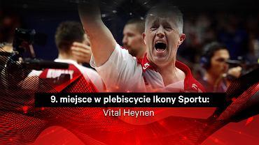 Vitgal Heynen 9. w plebiscycie Ikony Sportu