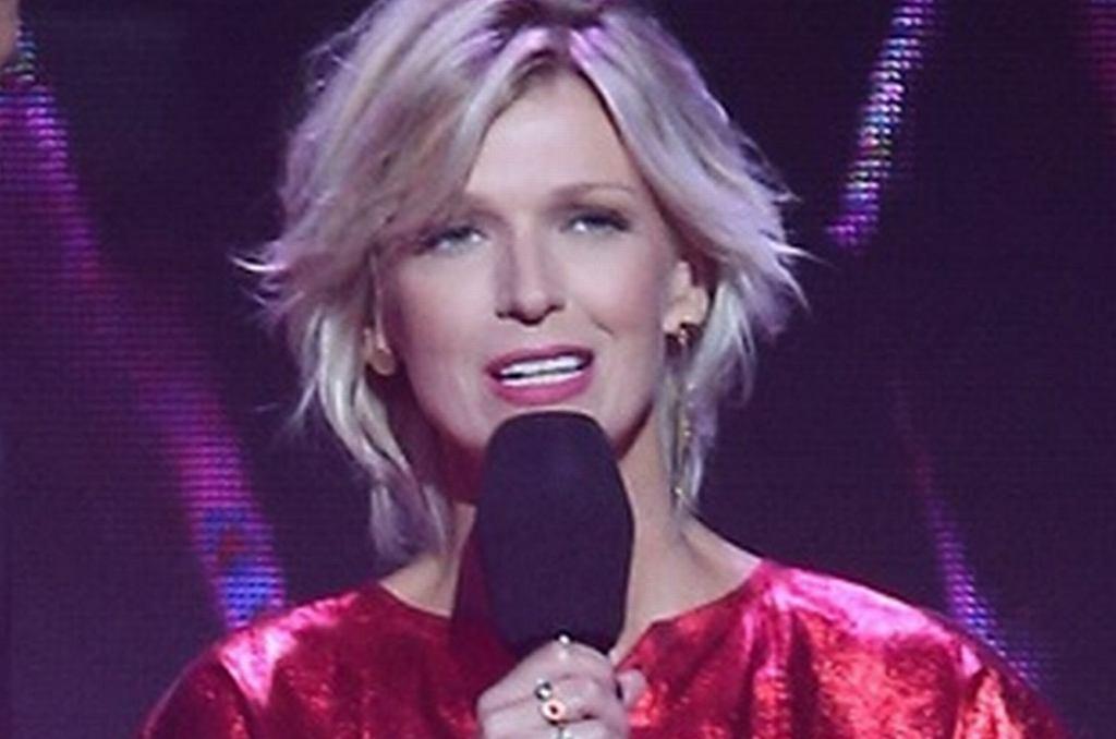 Magda Mołek na festiwalu 'Top of the Top 2017' w Sopocie