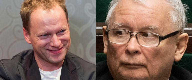 Maciej Stuhr przygotował zagadkę dla Jarosława Kaczyńskiego. W sieci wrzawa