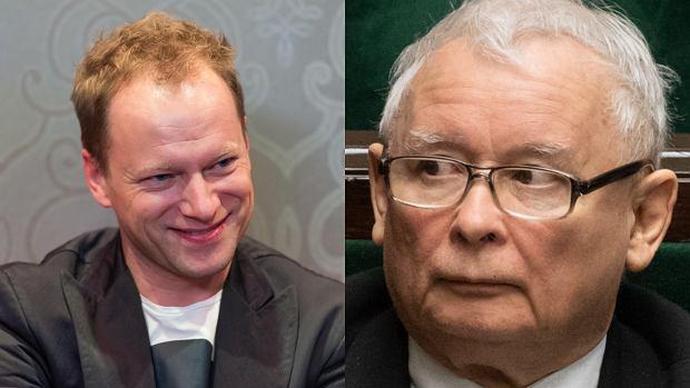 Maciej Stuhr przygotował zagadkę dla Jarosława Kaczyńskiego. Rozwiązanie nie spodoba się prezesowi PiS-u