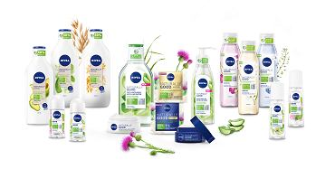 Linia NIVEA Naturally Good